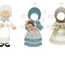 для девочик(бумажные куклы)